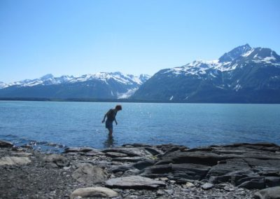 Cool your heels in Chilkat Inlet.