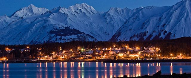 Haines at Christmastime.