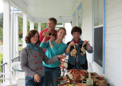 Dungeness Crab makes for a good party.